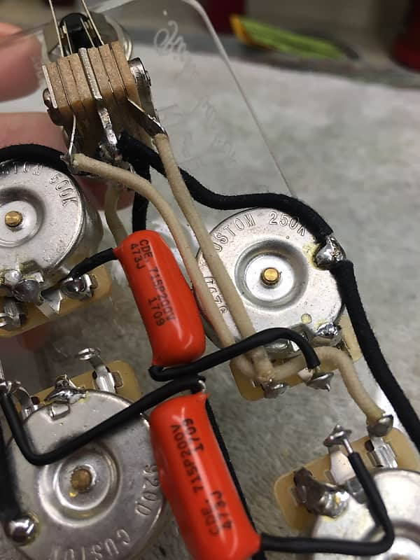 920d custom ric-b rickenbacker bass 4000 series wiring harness
