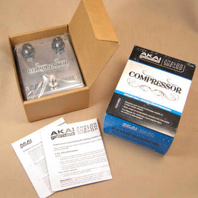 Akai Professional Analog Custom Shop Compressor Guitar Effects Pedal for sale