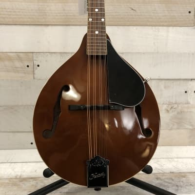 Kentucky KM-156 Standard German Spruce/Alpine Maple A-Style Mandolin Transparent Brown w/Padded Gig Bag for sale