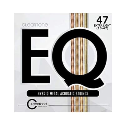 Cleartone Strings 7810 EQ Hybrid Metal Acoustic, Extra Light