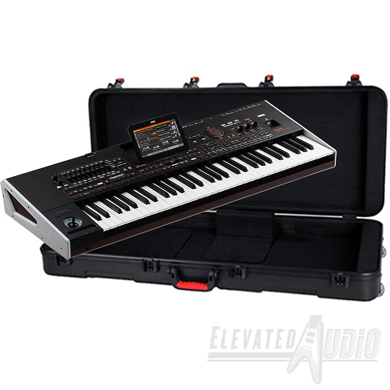 KORG Pa4X 61-Key Professional Arranger Keyboard + Gator GTSA-KEY61 Hard  Case! CA's #1 Dealer!