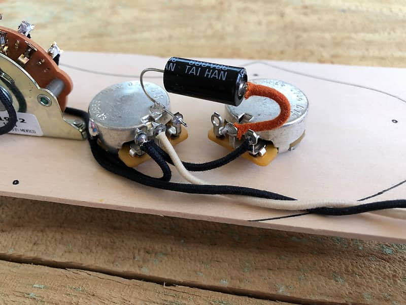 Fender Telecaster '69 Telecaster Thinline Wiring Harness CTS pots - on