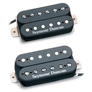 Seymour Duncan SH-PG1s Pearly Gates Neck/Bridge Humbucker Set Black