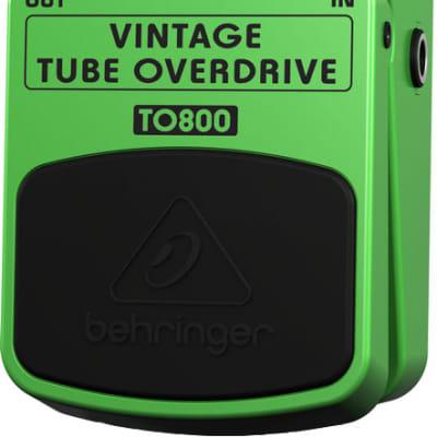 Behringer TO800 Vintage Tube OverDrive Pedal for sale