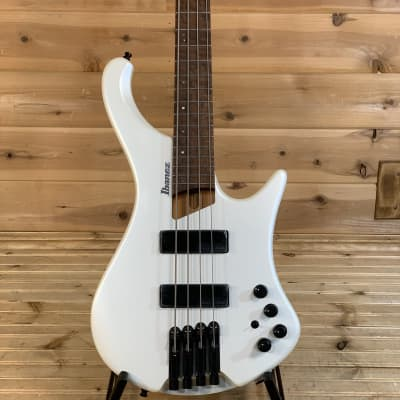 Ibanez EHB1000 Ergonomic Headless Bass Electric Bass Guitar - Pearl White Matte for sale