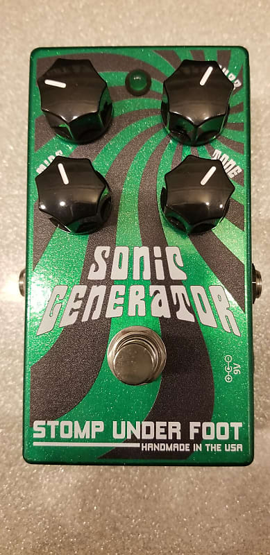Stomp Under Foot Sonic Generator Fuzz | Reverb