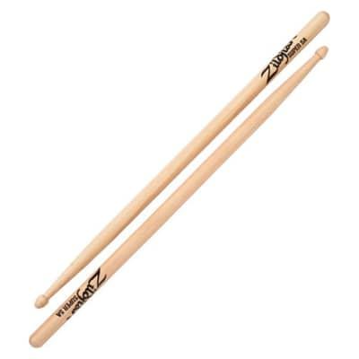 Zildjian S5AWN Hickory Series Super 5A Wood Tip Drum Sticks