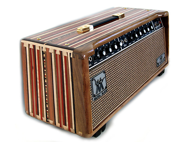 unique modified music man hd 130 1970s tube guitar amp head reverb. Black Bedroom Furniture Sets. Home Design Ideas