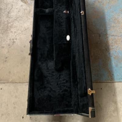 G&G Long Scale Bass Hardshell Case 1990's Black