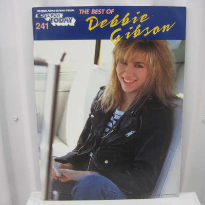 Debbie Gibson The Best of EZ Play Today 241 Sheet Music Song Book Easy Piano