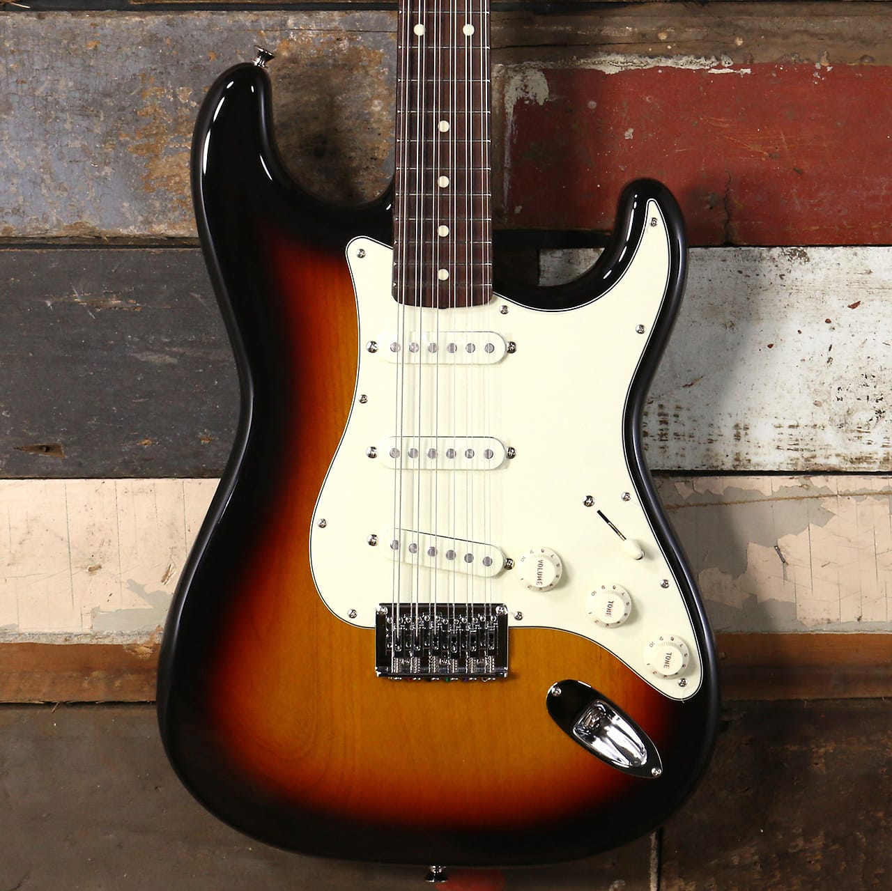 Fender Japan FSR Traditional Stratocaster XII 3-Tone Sunburst
