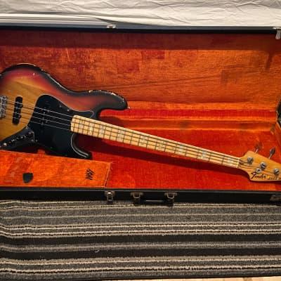 Fender Jazz Bass with Maple Fretboard 1974 Sunburst