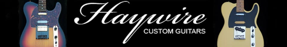 Haywire Custom Guitars Inc. South Carolina-USA✅