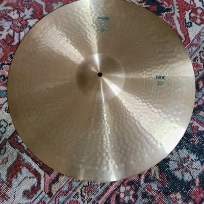 Paiste 505 22 inch Ride Cymbal