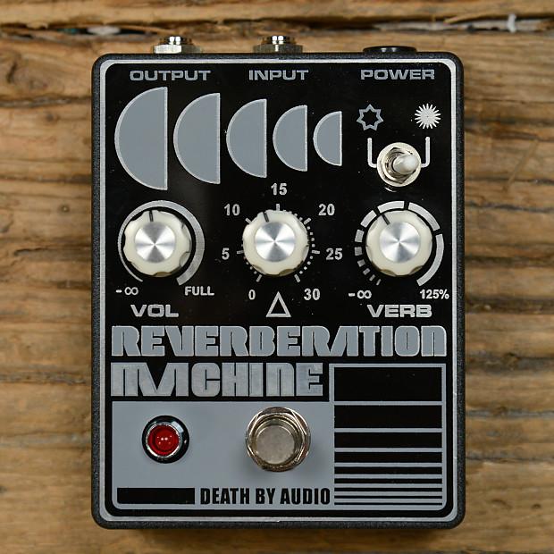 death by audio reverberation machine mint reverb. Black Bedroom Furniture Sets. Home Design Ideas