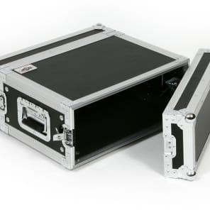 "OSP RC4U-14 4 Space ATA Effects Rack Flight Case 19"" Wide 14"" Deep"