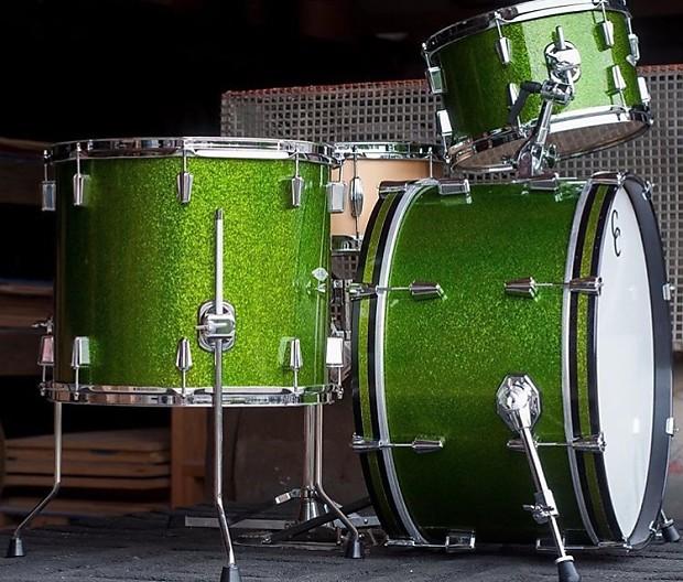 Yamaha Maple Custom Green