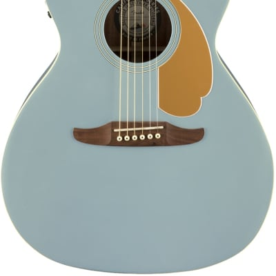 Fender Newporter Player Acoustic Electric Guitar | Ice Blue Satin for sale