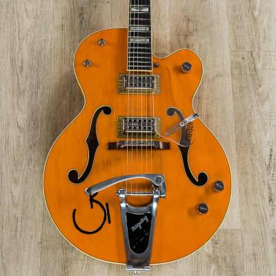 Gretsch G6120RHH Reverend Horton Heat Guitar, Orange Stain Lacquer