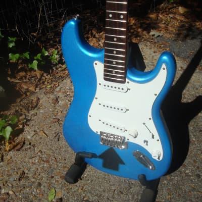 Jay Turser JT-300 2000s blue metallic... Upgrades  ! for sale