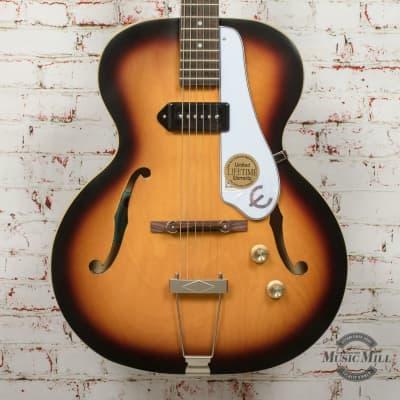 Epiphone Century Archtop Electric Guitar Vintage Sunburst x1027 for sale