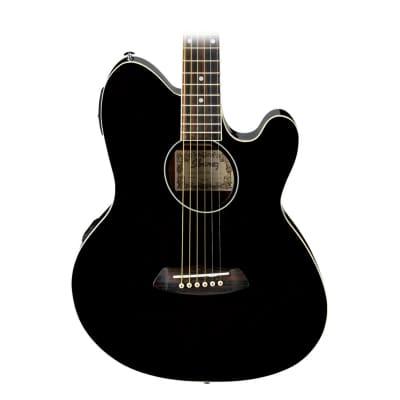 Ibanez TCY10ETBK Talman Acoustic/Elec Guitar in Black