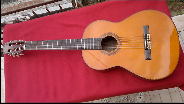 1980 39 s vtg classical guitar yamaha cg 120a music lagoon. Black Bedroom Furniture Sets. Home Design Ideas