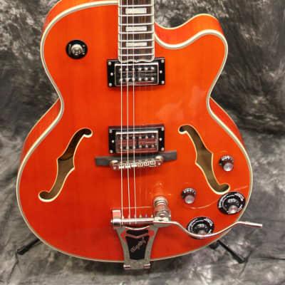 2016 Epiphone Emperor Swingster Electric Hollowbody Guitar Sunrise Orange for sale