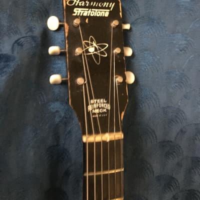 c. 1960s Harmony H45 Stratotone Mars 1960s Sunburst for sale