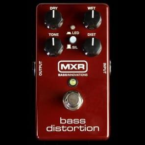 MXR M85 Bass Distortion Electric Bass Guitar Effects Pedal for sale