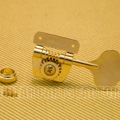 Wilkinson Wilkinson WJBL-200-GD (1) Gold Vintage 70's Style Cloverleaf Bass Tuner Reversible