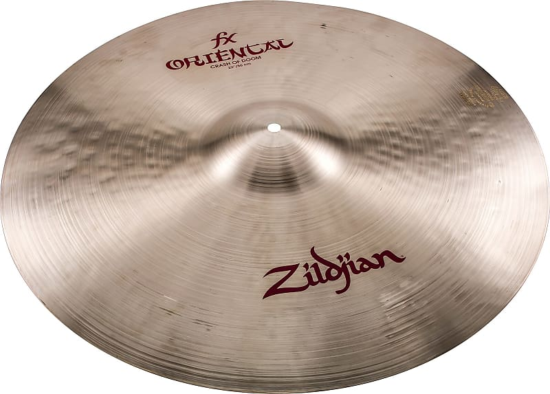 zildjian fx oriental crash of doom cymbal 22 zzounds reverb. Black Bedroom Furniture Sets. Home Design Ideas