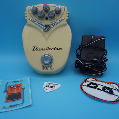 Danelectro Daddy O Overdrive Pedal w/Power Supply | Fast Shipping!