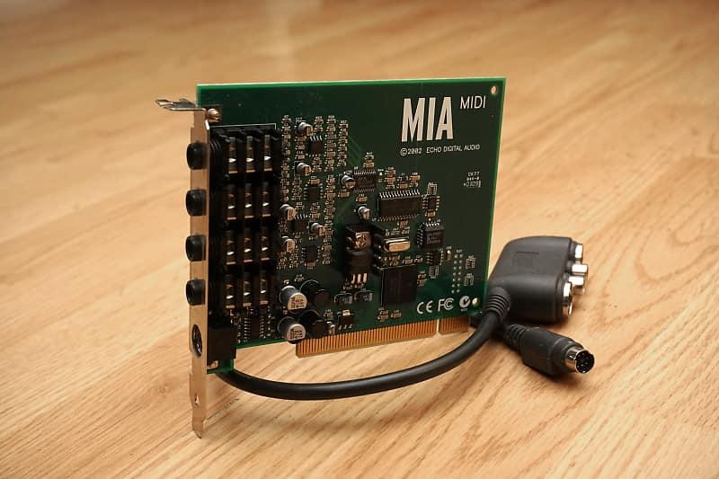 ECHO MIA MIDI DRIVER FOR WINDOWS MAC