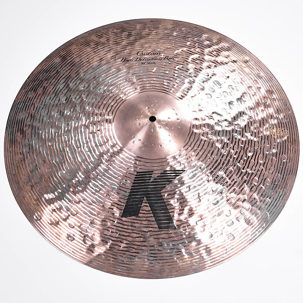 zildjian 22 k custom high definition ride cymbal demo reverb. Black Bedroom Furniture Sets. Home Design Ideas