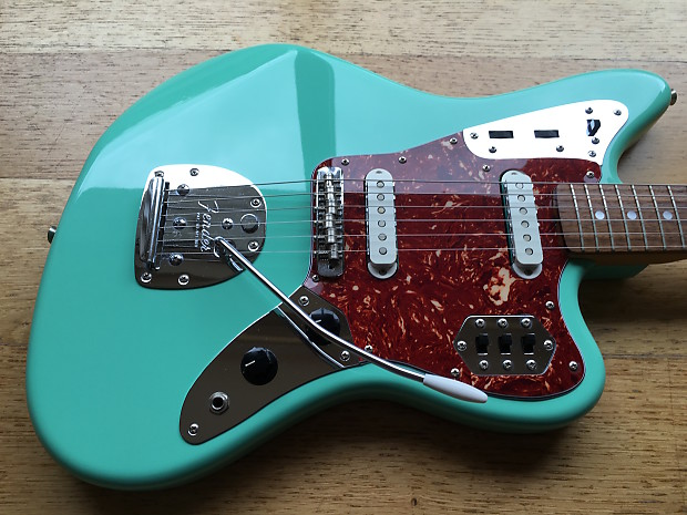 Fender Jaguar 66 Ri Cij O Serial 2002 2004 Seafoam Green