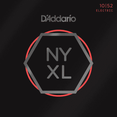 D'Addario NYXL1052 Nickel Wound Electric Guitar Strings Light Top/Heavy Bottom 10-52