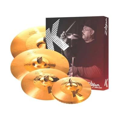"Zildjian K1250-I7 K Custom Hybrid Box Set 14.25/16/18/20"" Cymbal Pack"
