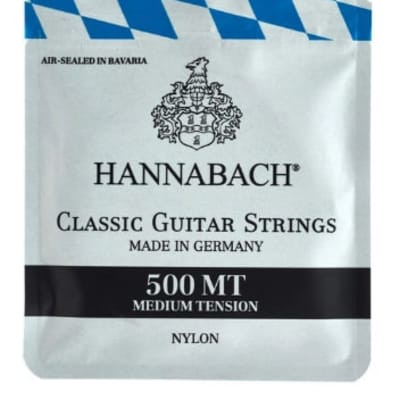 Hannabach 500MT Medium Tension Nylon Strings for sale