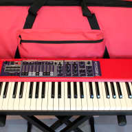 Nord Electro 2 73 Keyboard Synthesizer with padded Nord Carrying Case