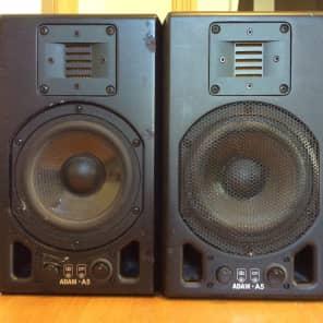 ADAM Audio A5 Active Nearfield Monitors (Pair) Black