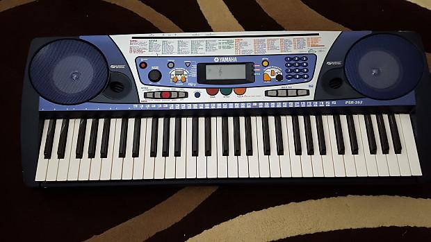 Yamaha Psr 265 Keyboard Midi Capable Reverb