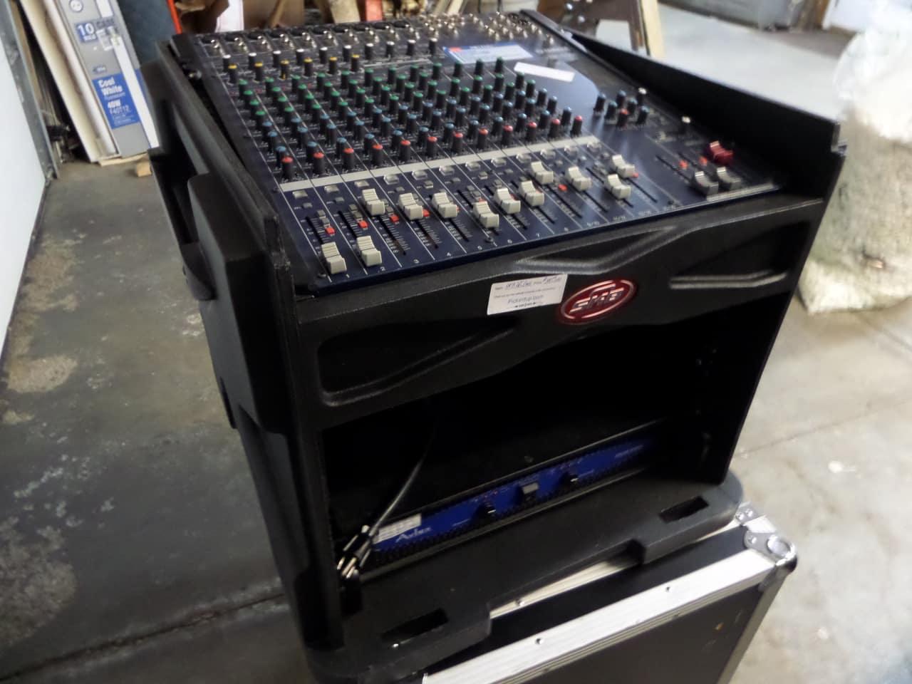 Skb D J Mixer Rack Case Reverb