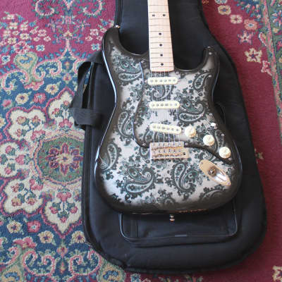 McCarthy 2018 Custom Shop Black Forest  Paisley Stratocaster Boutique for sale