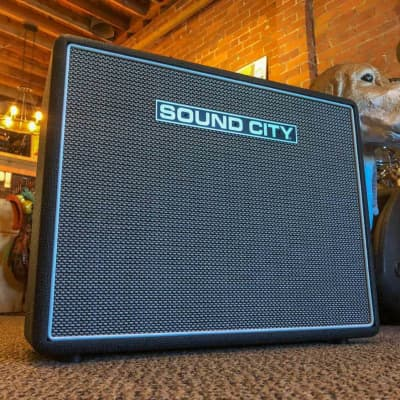 Sound City SC20 1X12 Combo Guitar Amplifier - Mullard 6V6 Matched Power Tubes - Well thought out amp for sale