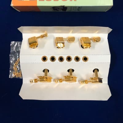 Kluson SD9005MG 3+3 (3 per side) Tuning Machines (Gold)