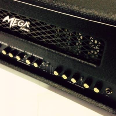 Mega TP-100 Guitar head 100% valves. 100W RMS for sale