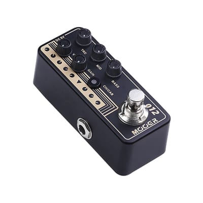 Mooer Micro Preamp  012 US Gold 100 image