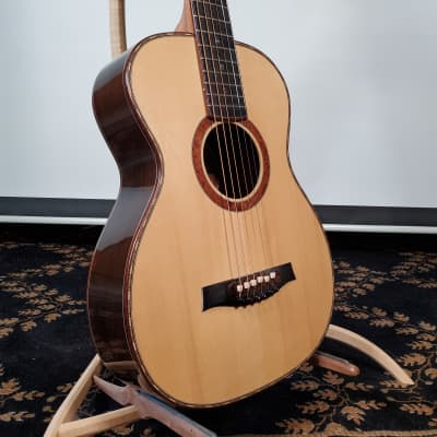Handmade Portland Guitar  Brazilian Rosewood with Carpathian Spruce for sale