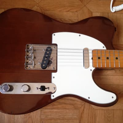 70's 1976 El Maya Telecaster Ultra RARE Exclusive Japan Nat Brown for sale